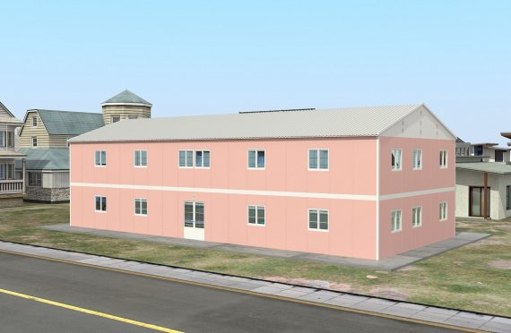 Aula Portátil de 480 m²