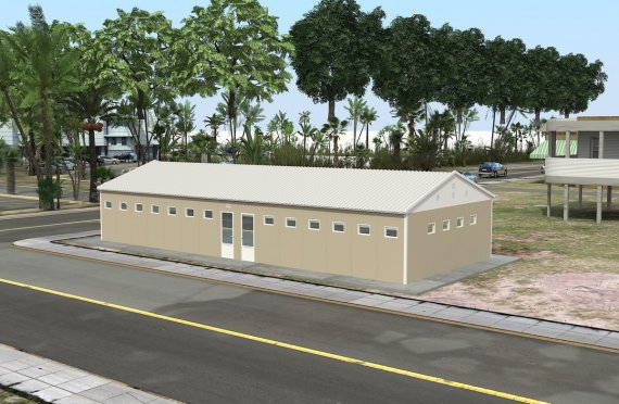 Sanitarios Modulares Prefabricados de 145 m²