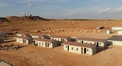 Proyecto de vivienda prefabricada asequible y bajo costo en Argelia