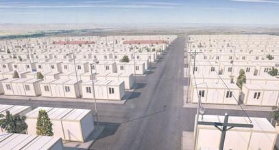 Proyecto contenedores Habitacionales para refugiados sirios