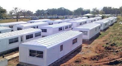 Campamentos de Karmod para los guardianes de la paz en Nigeria