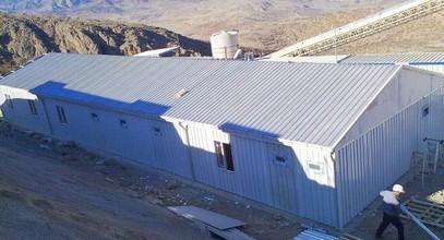 Edificio para Campamento de Trabajo entregado a Anagold Mining en Turquía