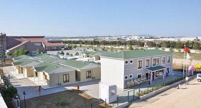 Edificio de rehabilitación para pacientes con cáncer fabricado por Karmod