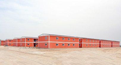 Gigante Proyecto habitacional completado por Karmod en Irak