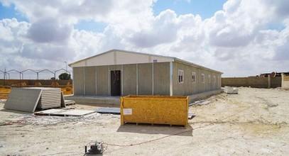 Finalizó la producción de los campamento prefabricados para extracción de petróleo en Libia.