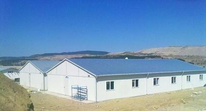 Campamentos prefabricados de Karmod para la planta de Energía Térmica Tuncbilek