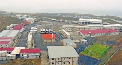El astillero de obra del tercer aeropuerto fue concluido por Karmod.