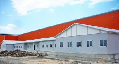 Proyecto completado de campamentos de trabajo prefabricados para Ufuk Boru Company