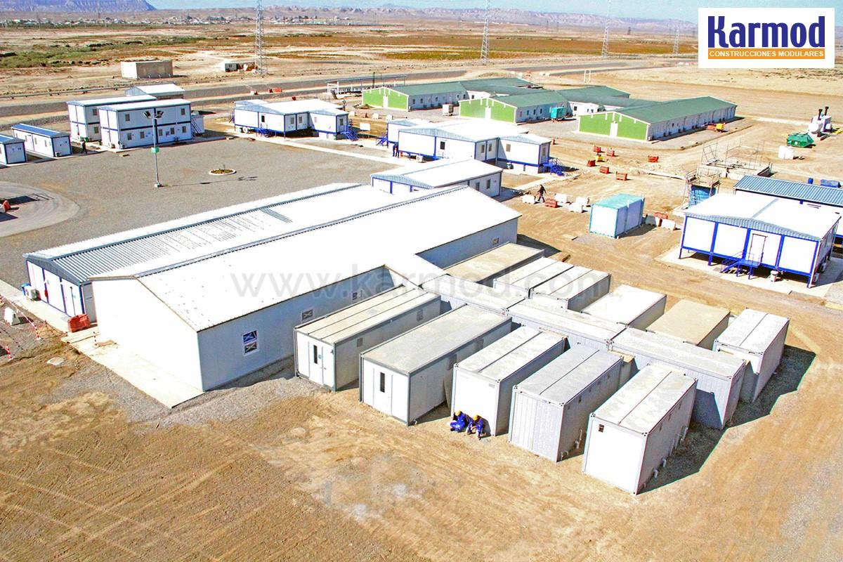 Campamentos De Obras Campamentos Modulares Para Trabajadores