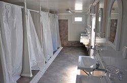 Contenedor sanitario/ducha