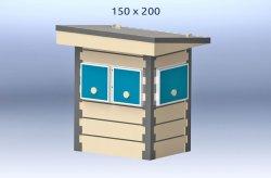 kioscos de madera de segunda mano